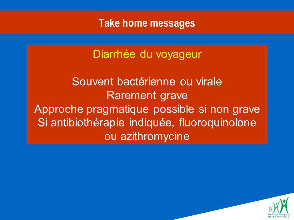 Souvent bactérienne ou virale Rarement grave