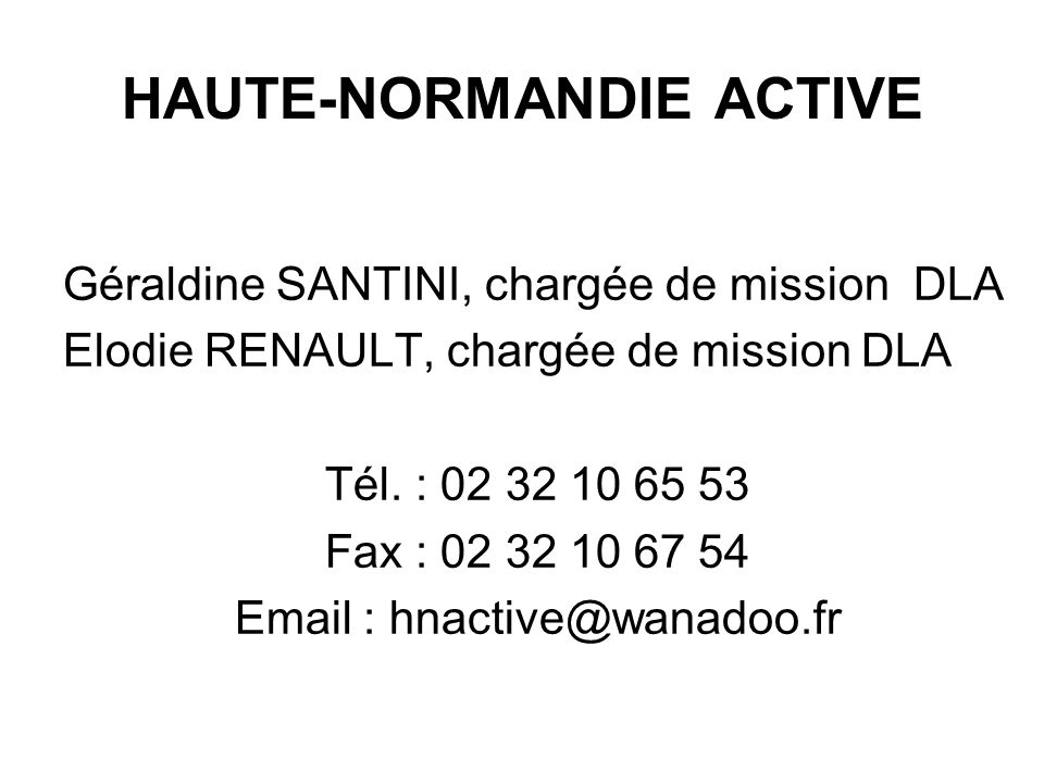 HAUTE-NORMANDIE ACTIVE