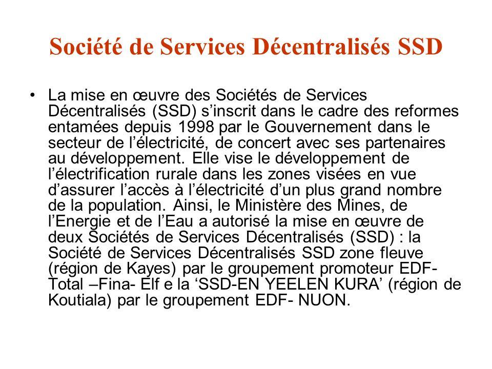 Société de Services Décentralisés SSD