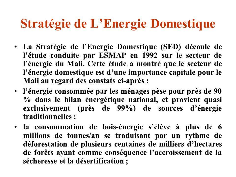 Stratégie de L'Energie Domestique