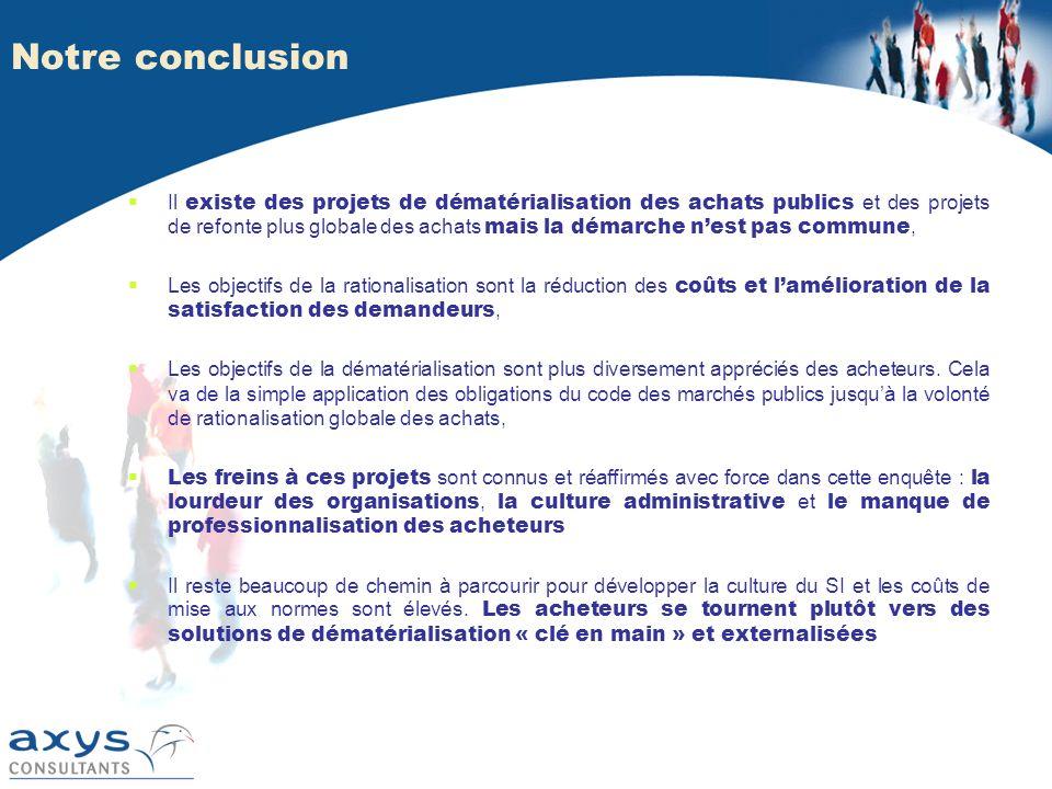 Notre conclusion