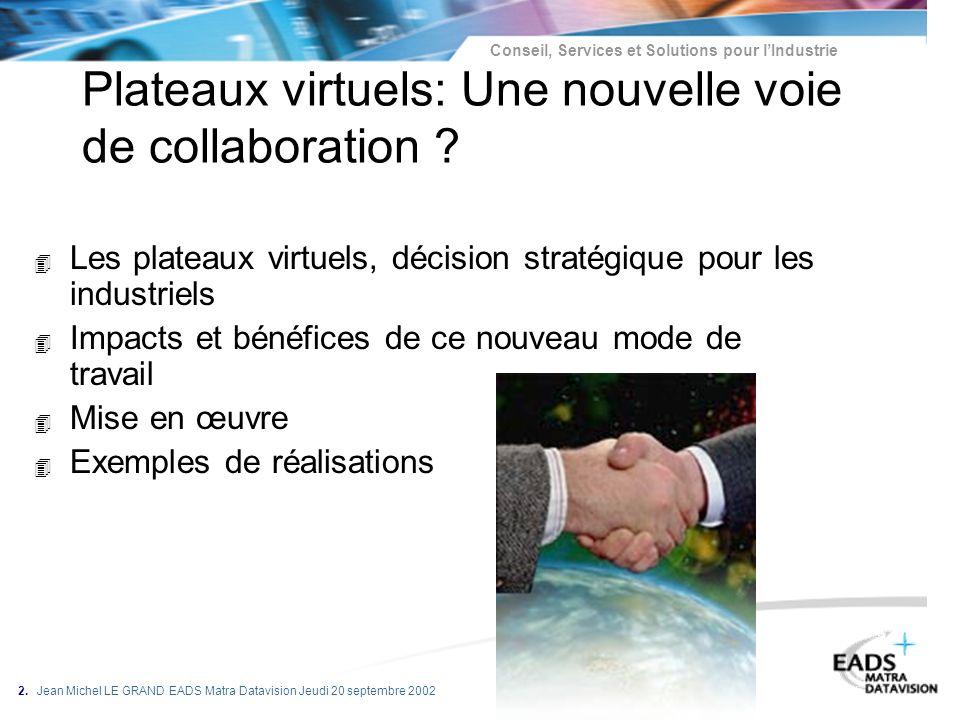Plateaux virtuels: Une nouvelle voie de collaboration