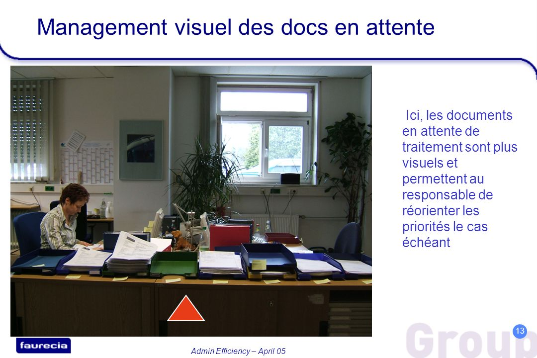 Management visuel des docs en attente