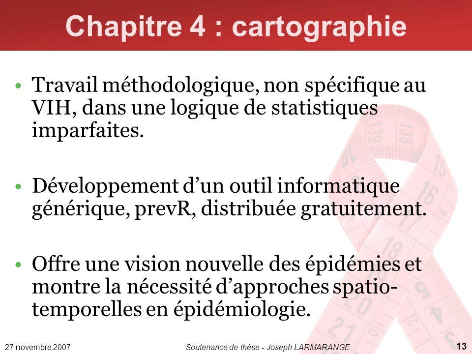 Chapitre 4 : cartographie