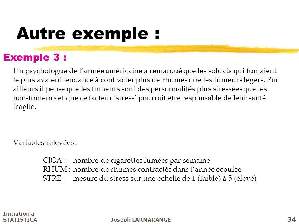 Autre exemple : Exemple 3 :
