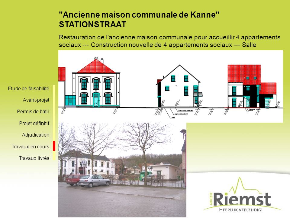 Ancienne maison communale de Kanne STATIONSTRAAT