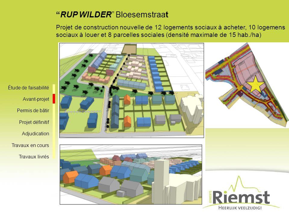 RUP WILDER Bloesemstraat