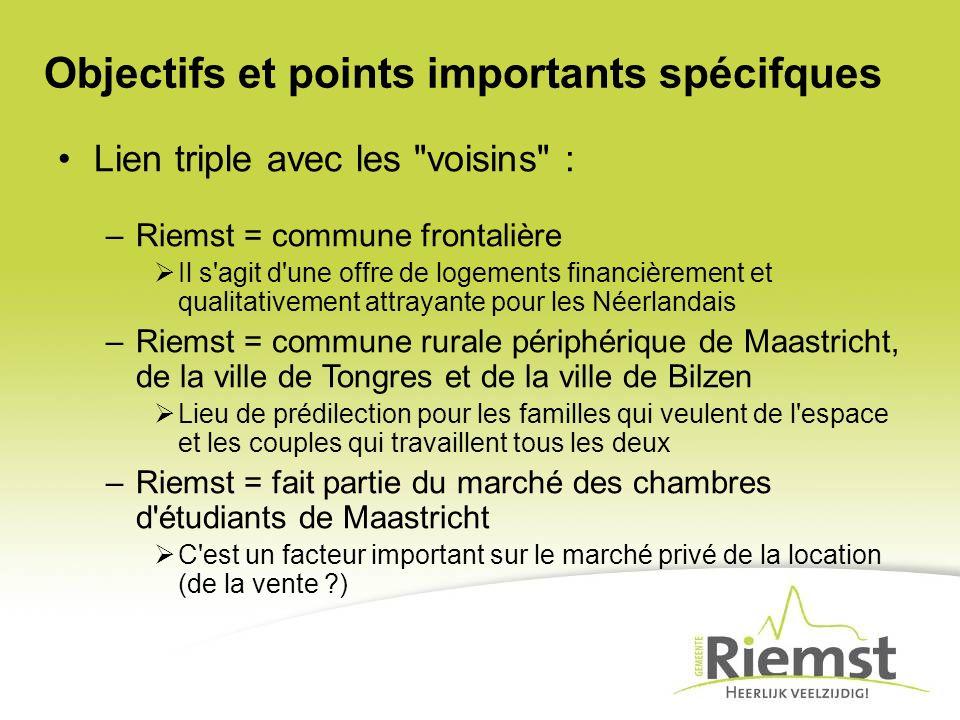 Objectifs et points importants spécifques