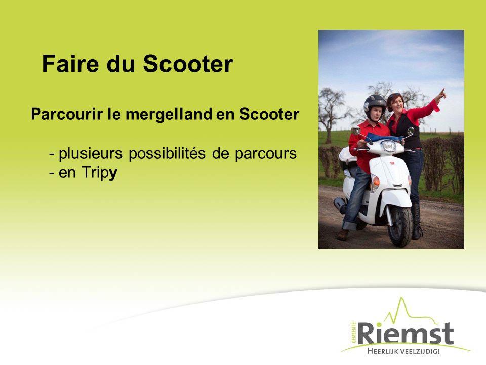 Faire du Scooter Parcourir le mergelland en Scooter - plusieurs possibilités de parcours - en Tripy.