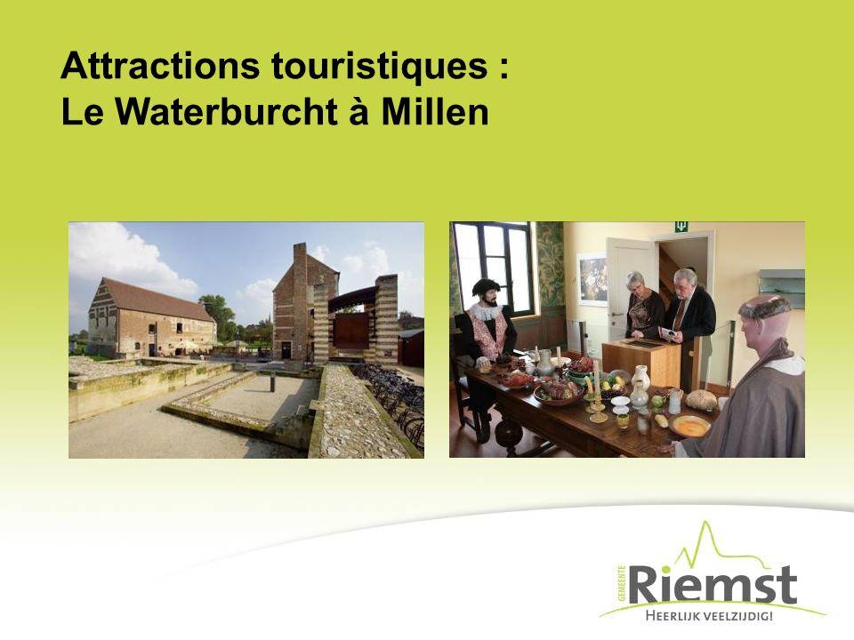 Attractions touristiques : Le Waterburcht à Millen