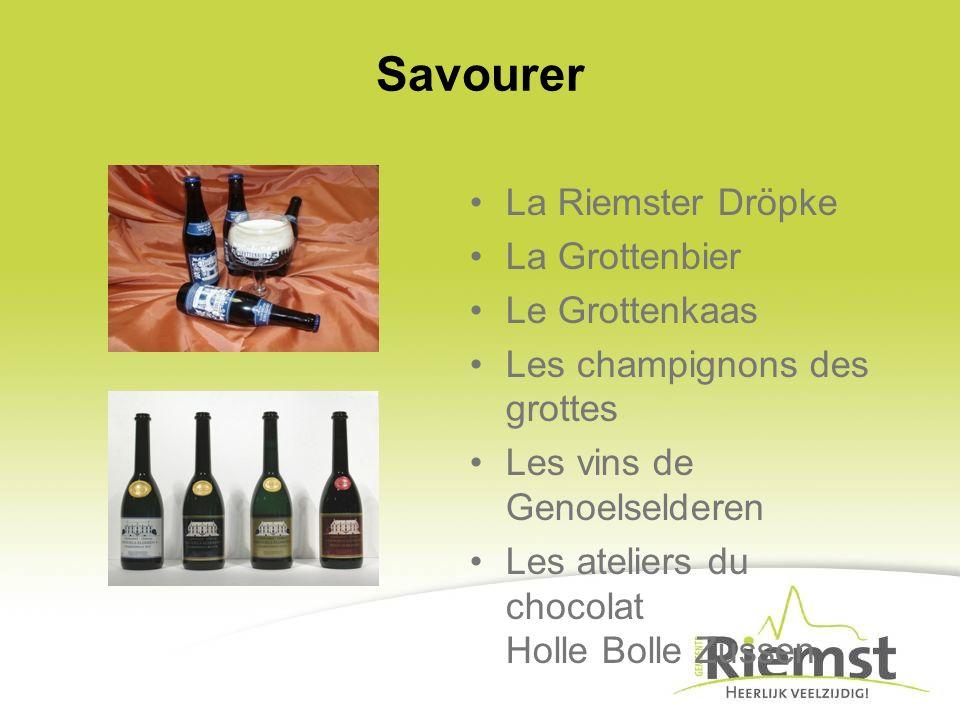Savourer La Riemster Dröpke La Grottenbier Le Grottenkaas