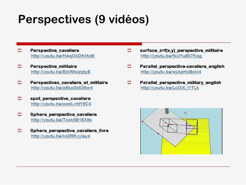 Perspectives (9 vidéos)
