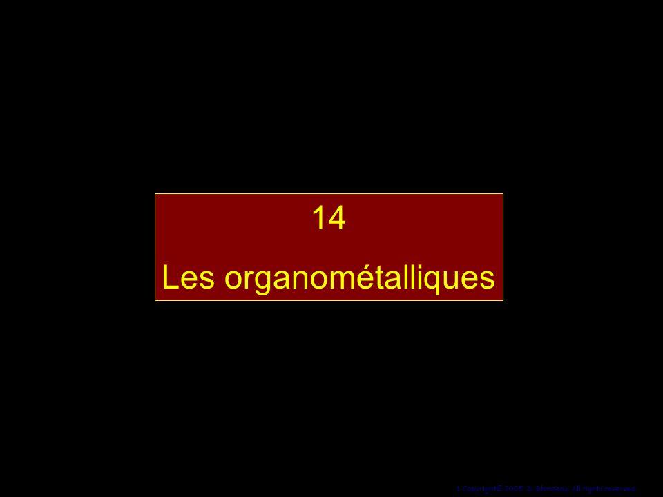 14 Les organométalliques