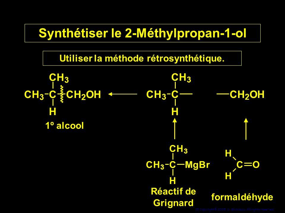 Synthétiser le 2-Méthylpropan-1-ol
