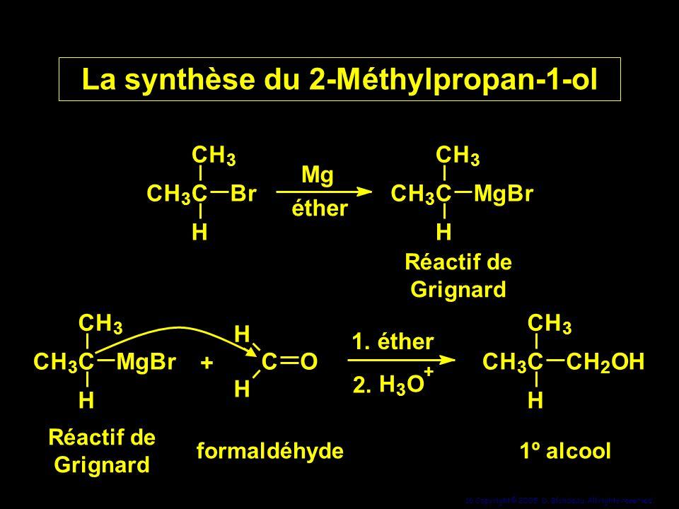 La synthèse du 2-Méthylpropan-1-ol
