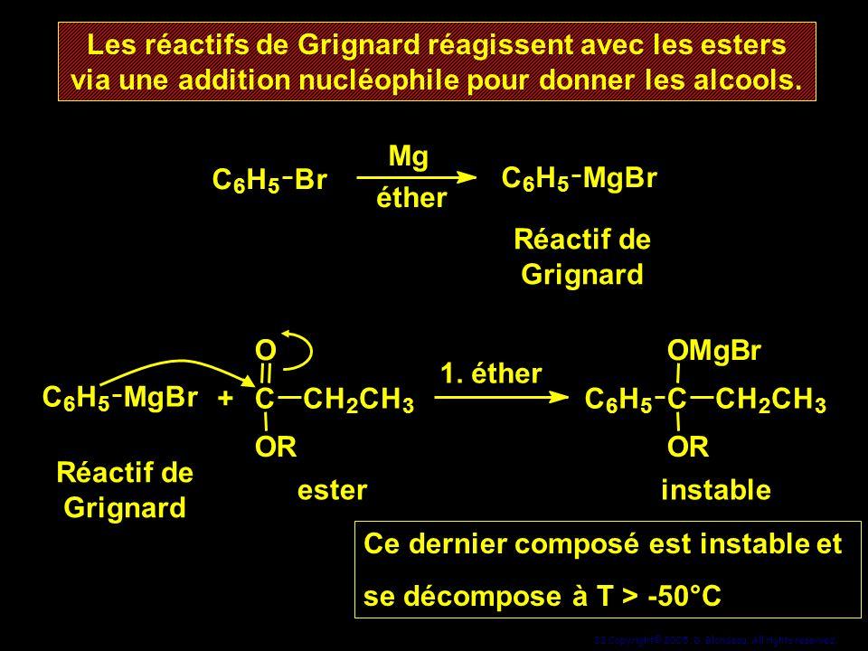 Ce dernier composé est instable et se décompose à T > -50°C