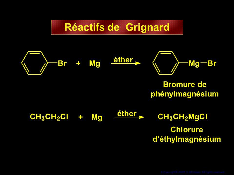 Bromure de phénylmagnésium Chlorure d'éthylmagnésium