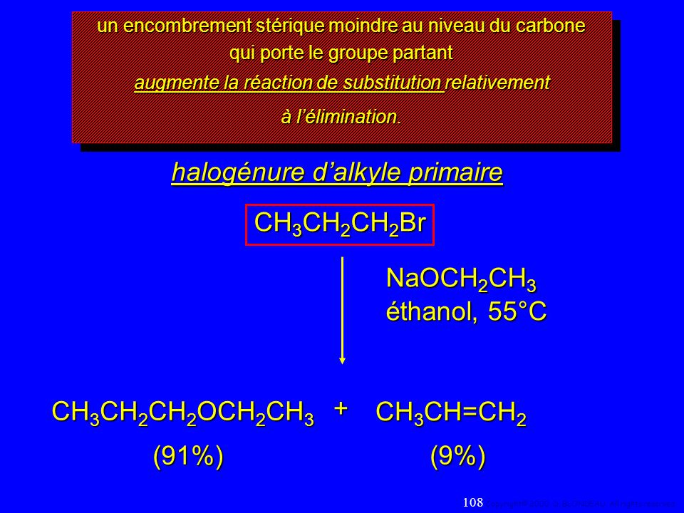 halogénure d'alkyle primaire