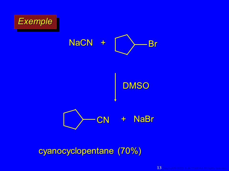 cyanocyclopentane (70%)