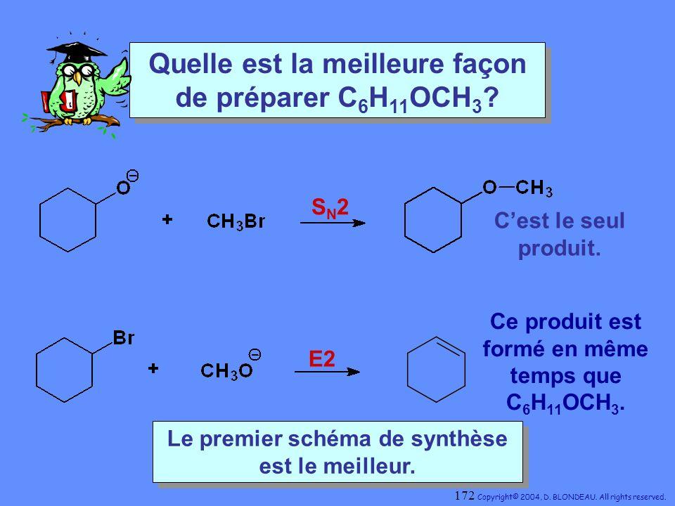 Quelle est la meilleure façon de préparer C6H11OCH3