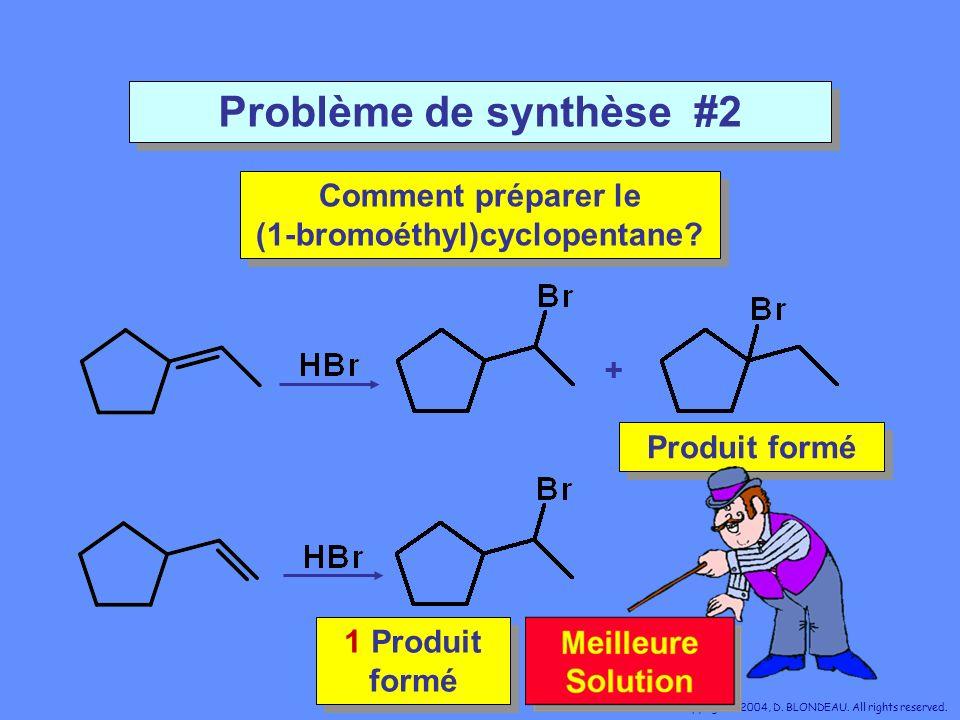 Comment préparer le (1-bromoéthyl)cyclopentane
