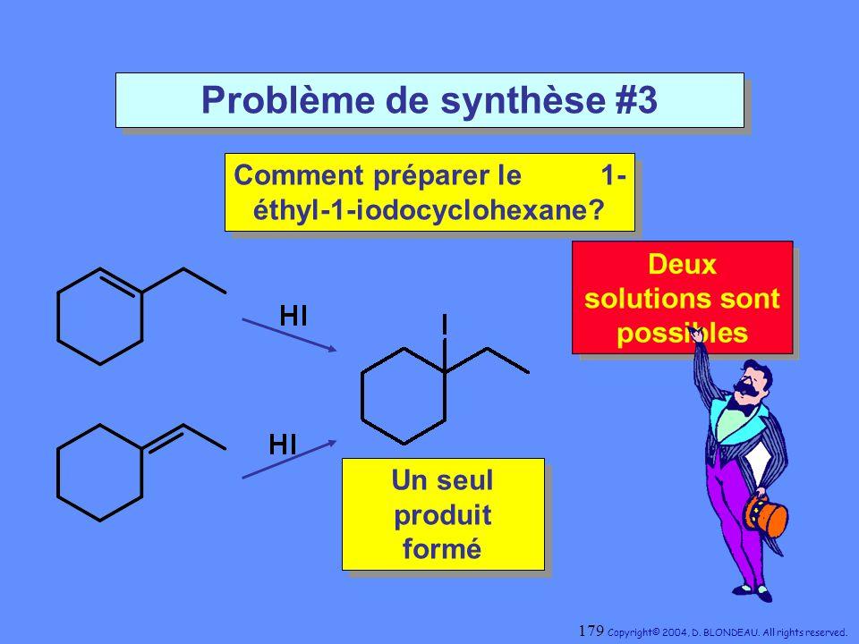 Comment préparer le 1-éthyl-1-iodocyclohexane