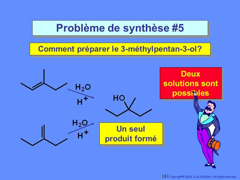 Comment préparer le 3-méthylpentan-3-ol