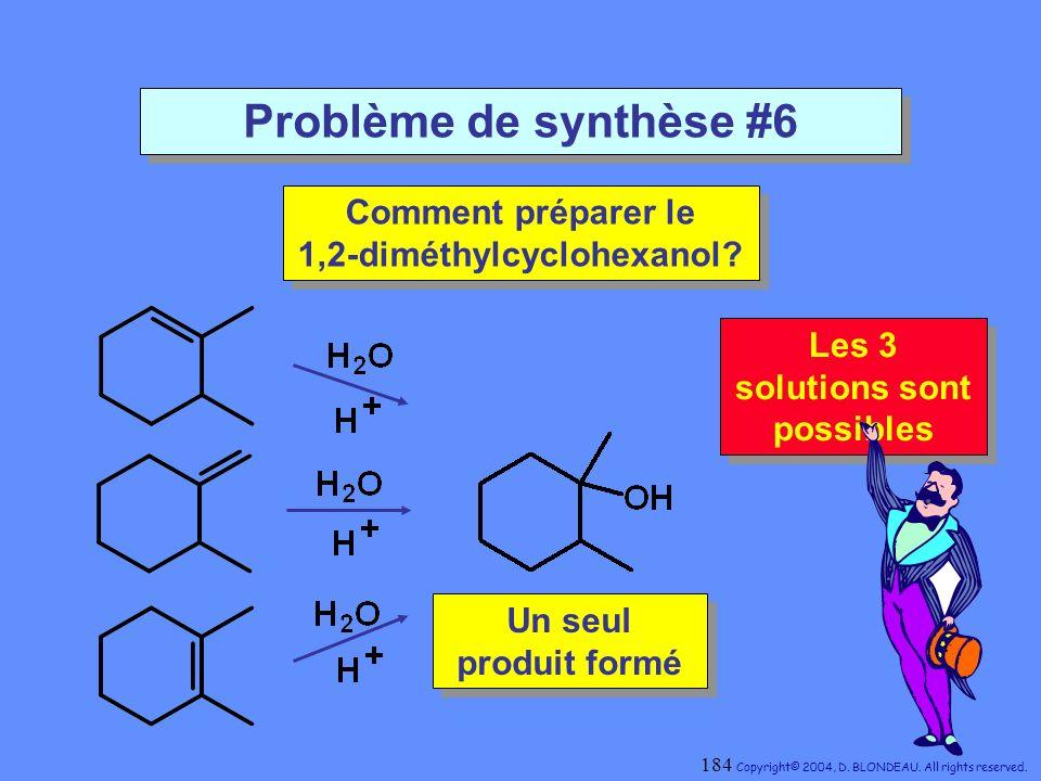 Comment préparer le 1,2-diméthylcyclohexanol