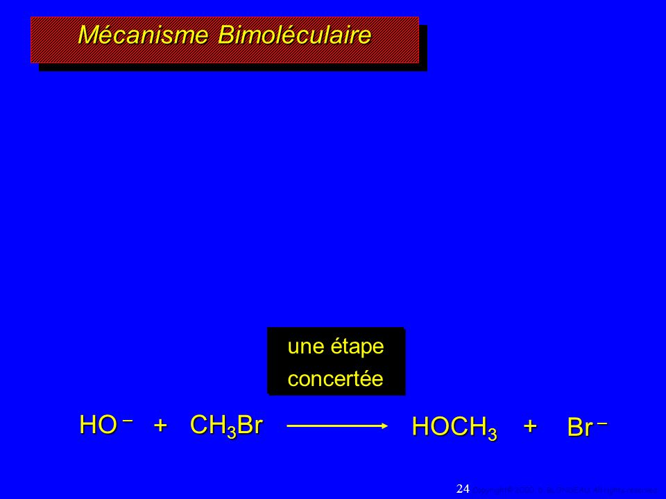 Mécanisme Bimoléculaire