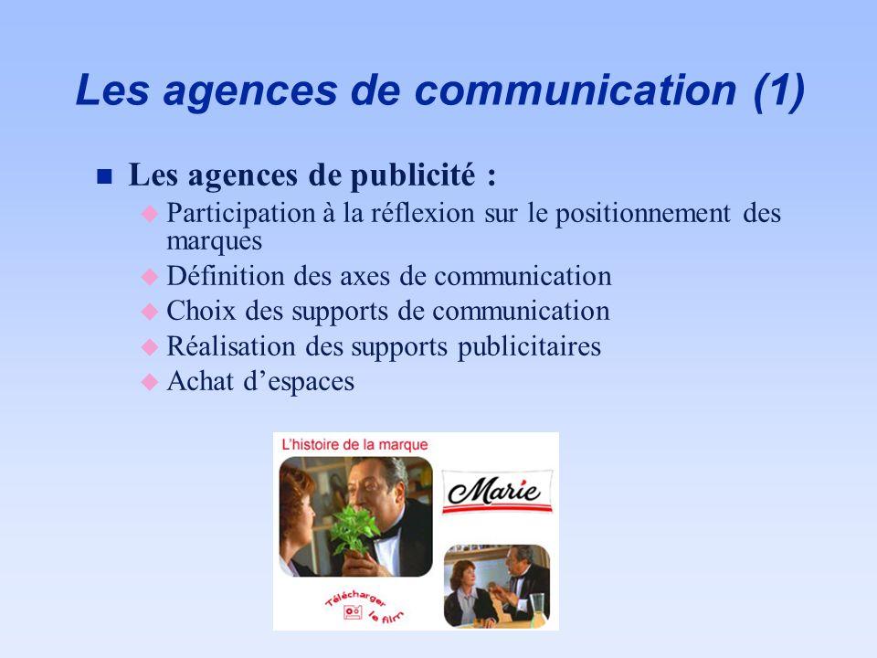 Les agences de communication (1)
