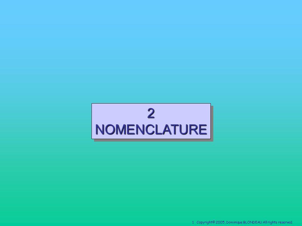 2 NOMENCLATURE
