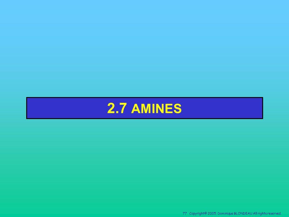2.7 AMINES