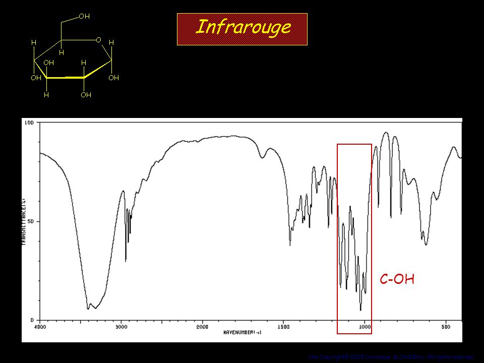 Infrarouge C-OH