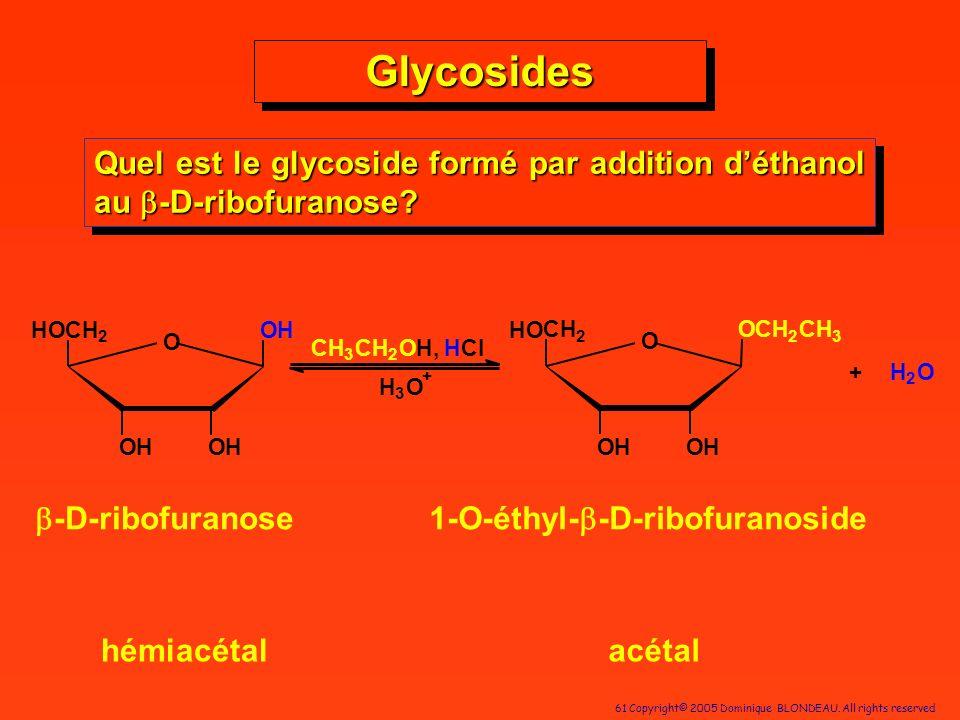 1-O-éthyl-b-D-ribofuranoside