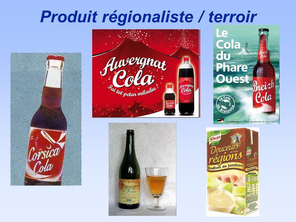 Produit régionaliste / terroir