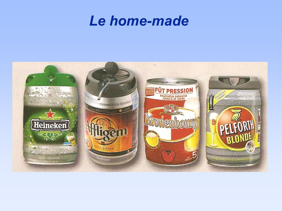 Le home-made