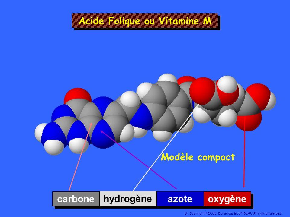 Acide Folique ou Vitamine M