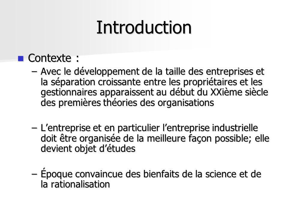 Introduction Contexte :