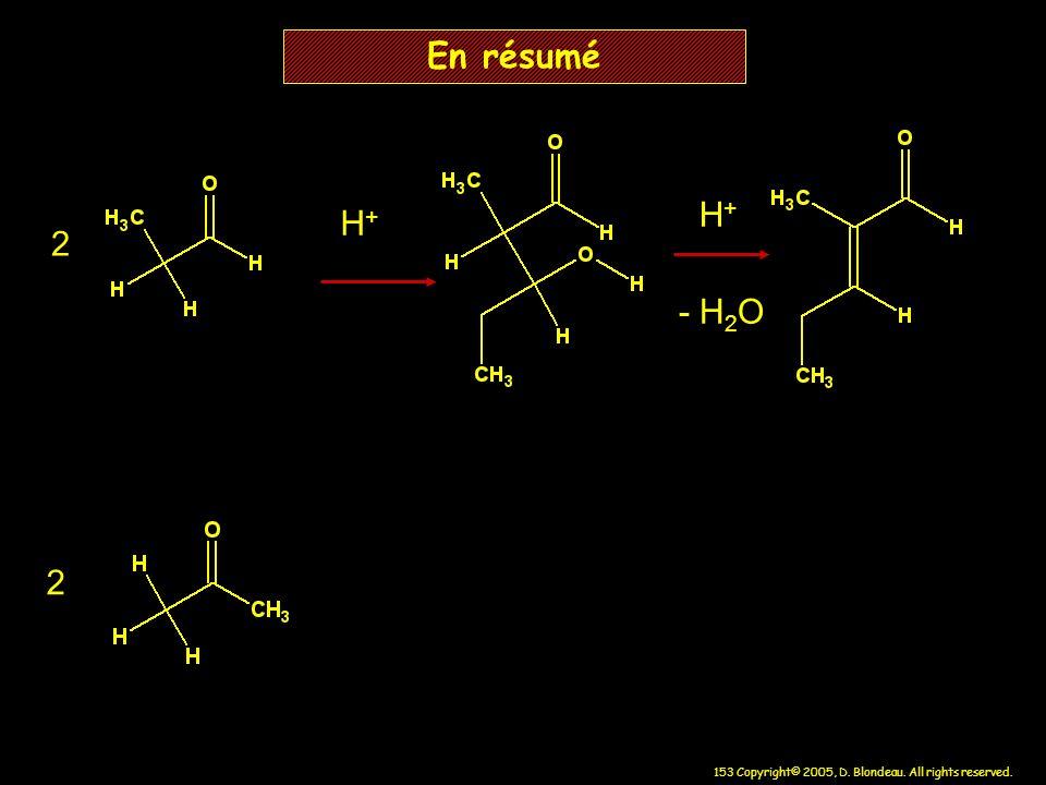 En résumé H+ H+ 2 - H2O 2