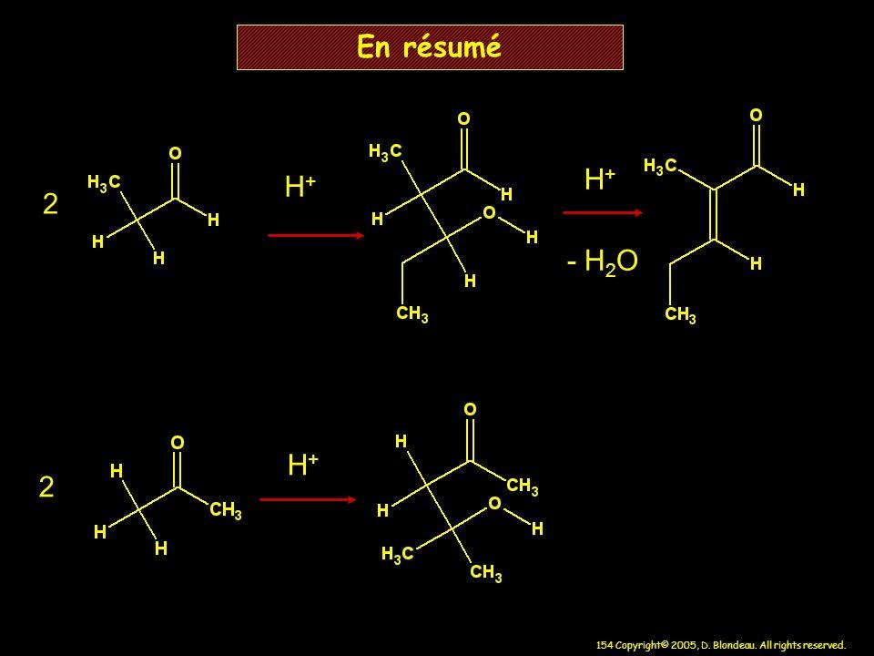 En résumé H+ H+ 2 - H2O H+ 2