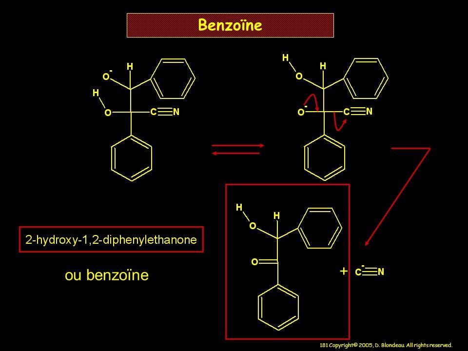 Benzoïne + ou benzoïne