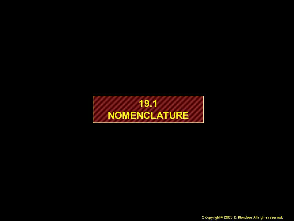 19.1 NOMENCLATURE