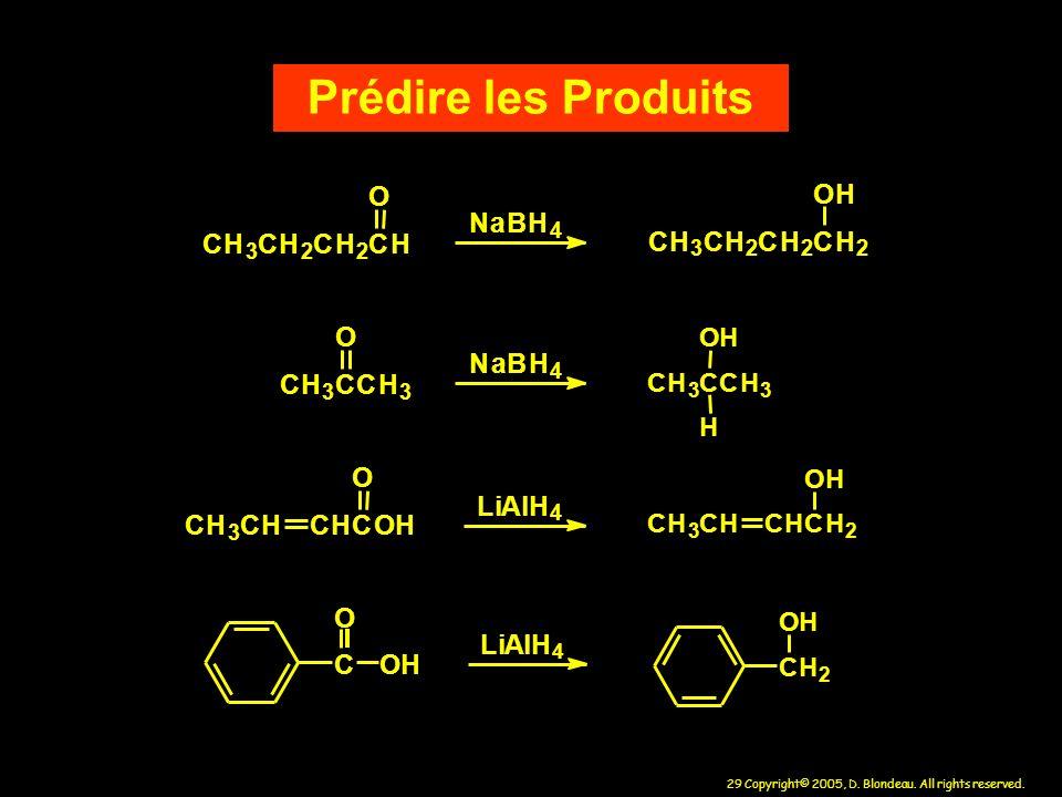 Prédire les Produits C H O N a B C H O C H O N a B C H O L i A l L i A