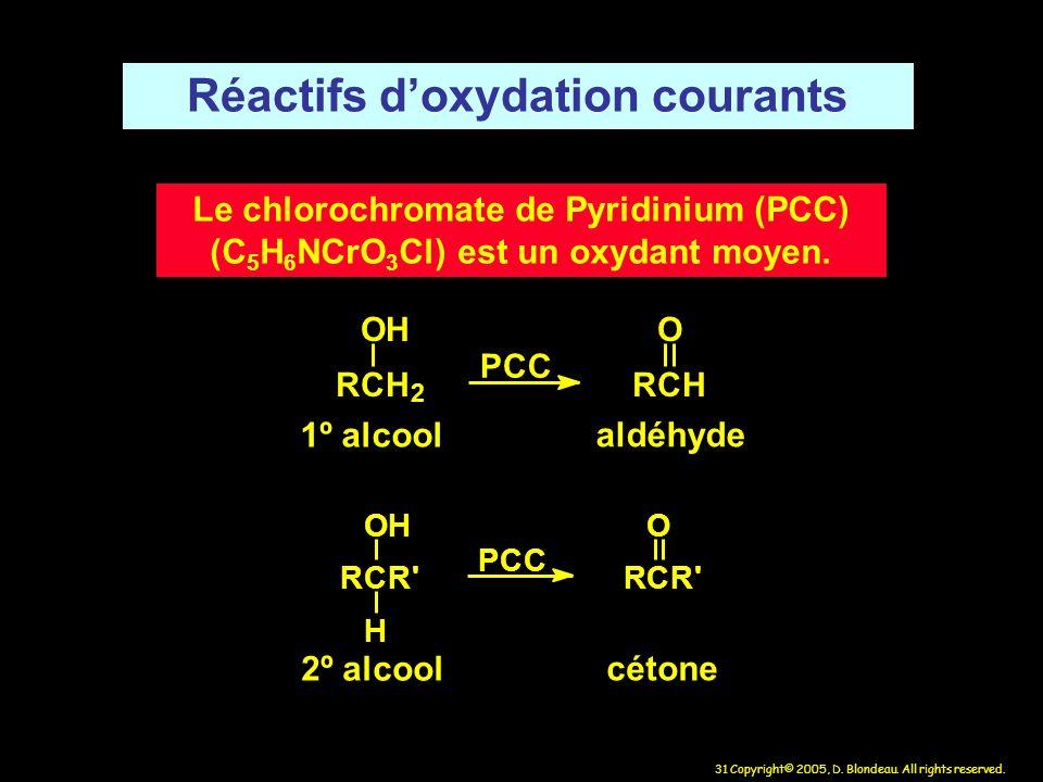 Réactifs d'oxydation courants
