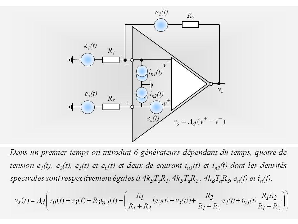 vs + _. en(t) R2. e2(t) R1. e1(t) in1(t) R3. e3(t) in2(t)