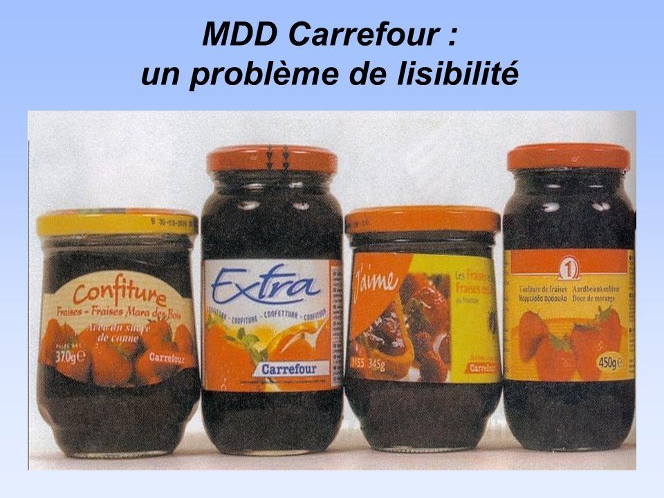 MDD Carrefour : un problème de lisibilité