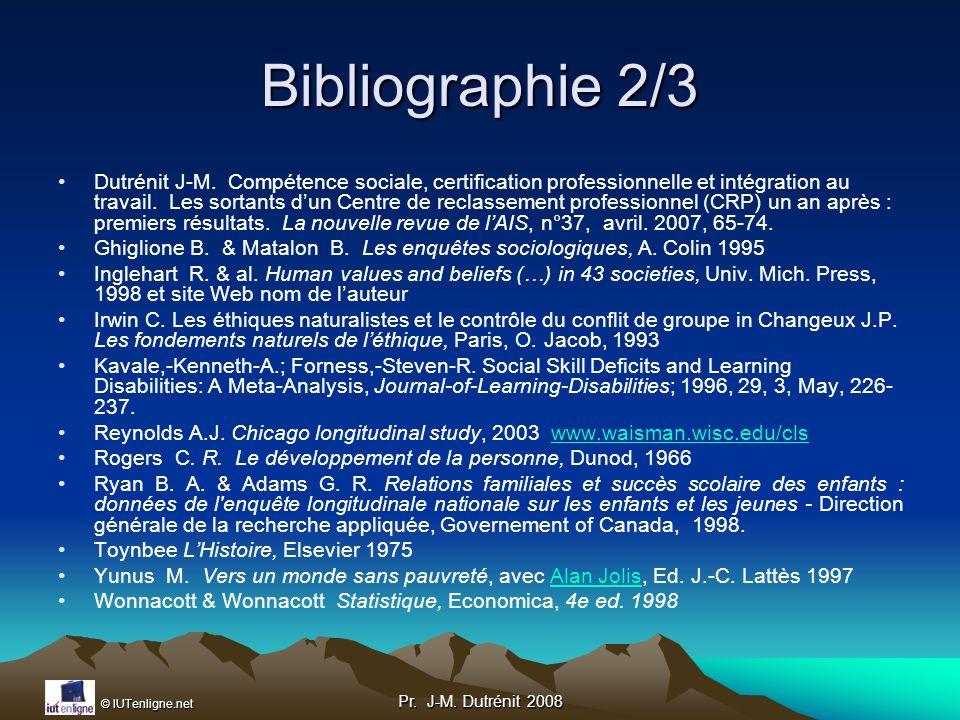 Bibliographie 2/3