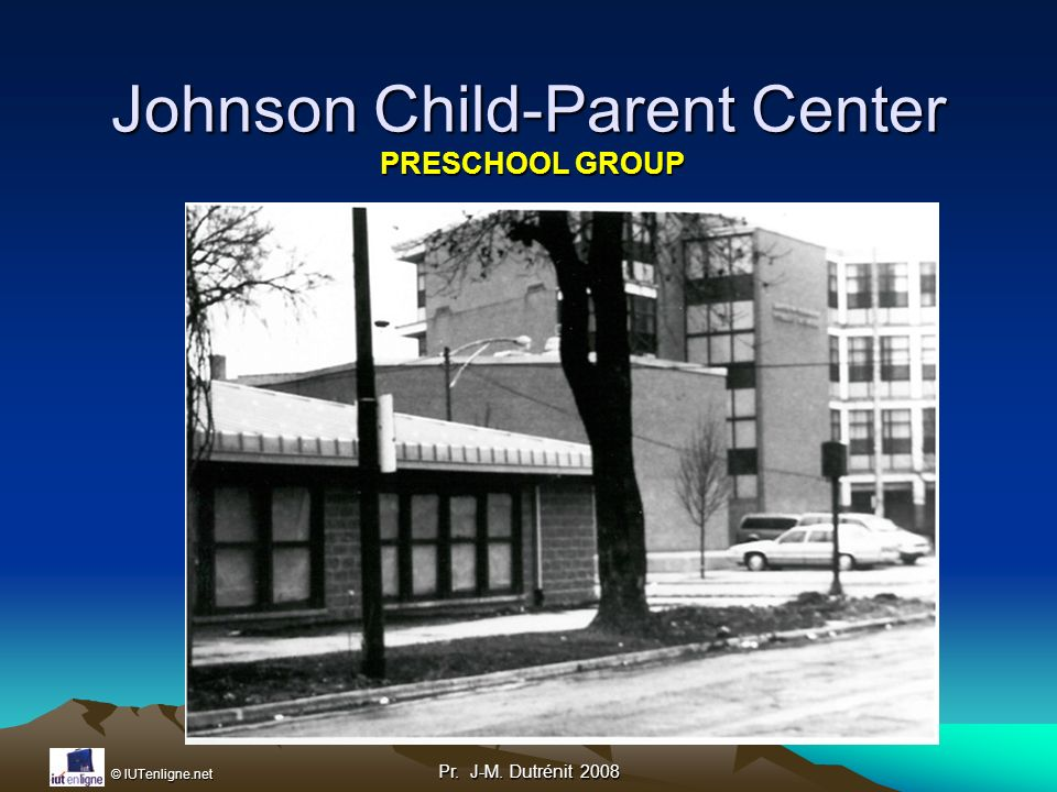 Johnson Child-Parent Center PRESCHOOL GROUP