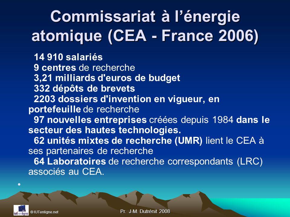 Commissariat à l'énergie atomique (CEA - France 2006)
