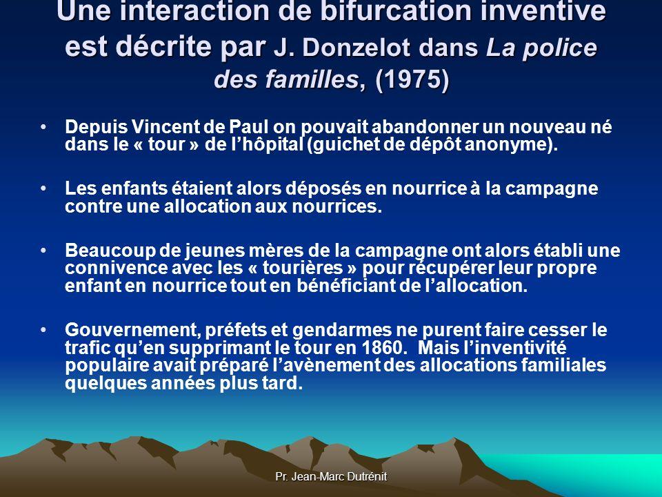 Une interaction de bifurcation inventive est décrite par J